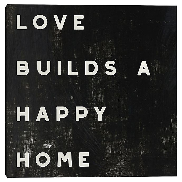 Alternate image 1 for Lovely Home Typography Wall Art