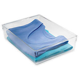 InterDesign® Linus Plastic Dresser Organizer in Clear