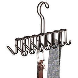 InterDesign® Classico Tie/Belt Rack in Bronze