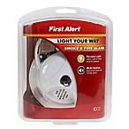 First Alert® Smoke Alarm with Escape Light in White