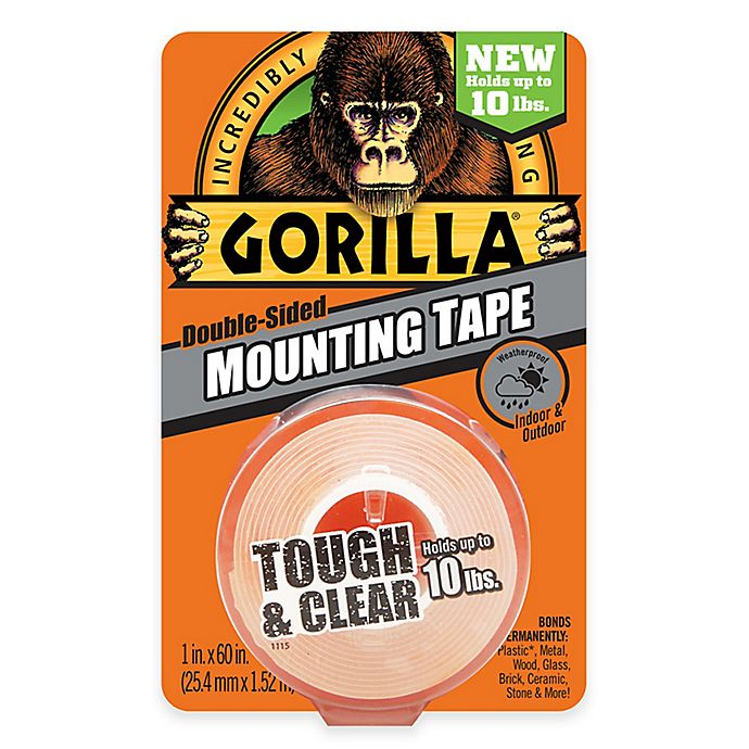 Alternate image 1 for Gorilla Glue™ Clear Mounting Tape