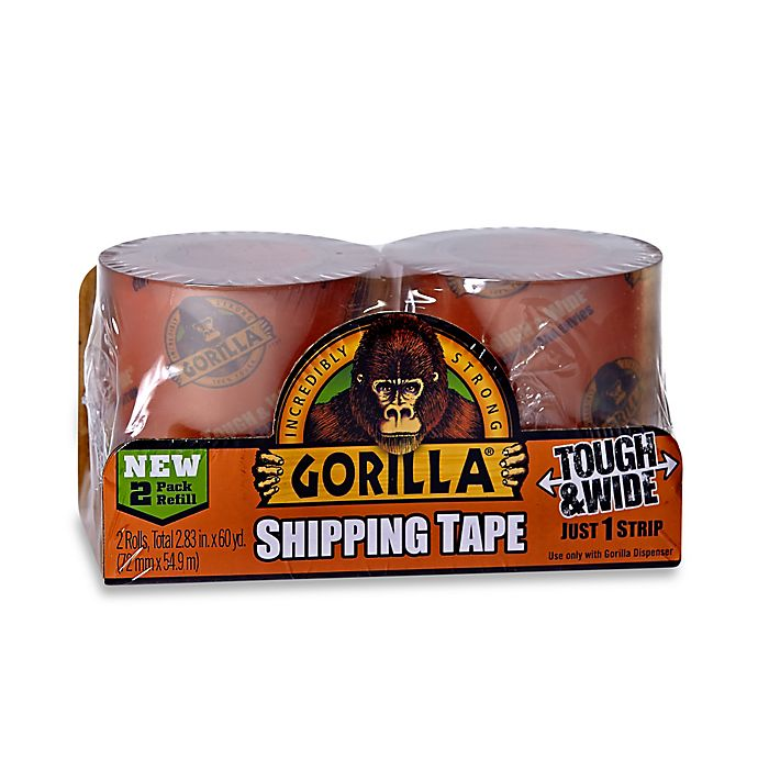 Alternate image 1 for Gorilla™ Clear Shipping Tape