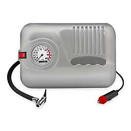 Car and Driver 300 PSI Portable Air Compressor in Grey
