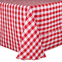 Gingham Poly Check Tablecloth