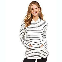 Motherhood® Maternity 2-Piece Stripe Nursing Pajama Set