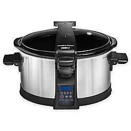 Hamilton Beach® Set & Forget® Programmable 6 qt. Slow Cooker with Clip-Tight Lid