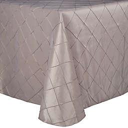 Bombay Diamond-Stitched Pintuck Tablecloth