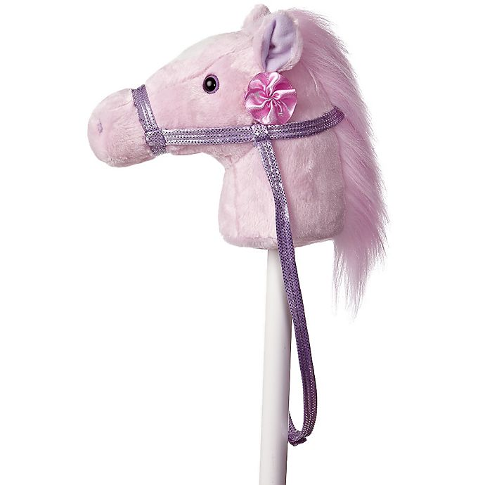 Alternate image 1 for Fantasy Stick Horse in Pink