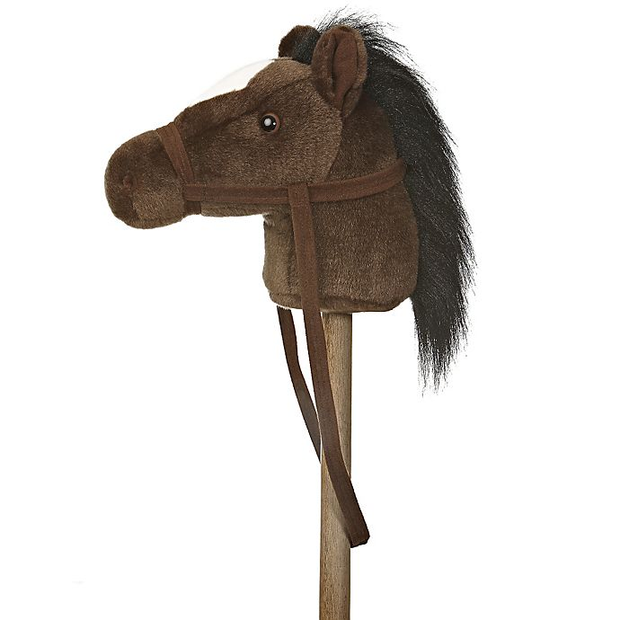 Alternate image 1 for Giddy Up Stick Horse in Dark Brown