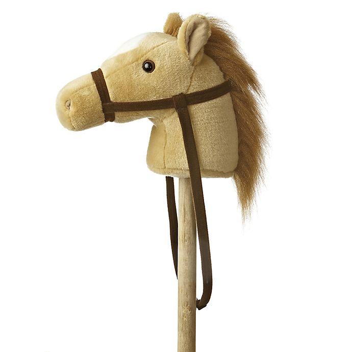 Alternate image 1 for Giddy Up Stick Horse in Beige
