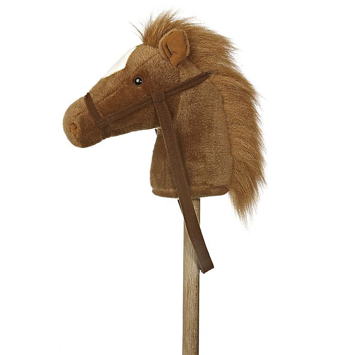 Alternate image 1 for Giddy Up Stick Horse in Brown