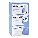 Ubbi® Diaper Pail 75-Count Value Pack Plastic Bags