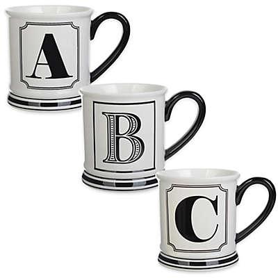 Formations Block Letter Monogram Mug
