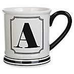Formations Block Letter  A  Monogram Mug