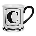 Formations Block Letter  C  Monogram Mug