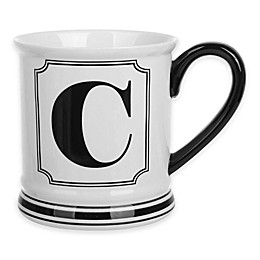 Formations Block Letter Monogram Mug