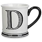 Formations Block Letter  D  Monogram Mug
