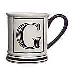 Formations Block Letter  G  Monogram Mug