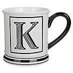 Formations Block Letter  K  Monogram Mug
