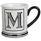 Formations Block Letter  M  Monogram Mug