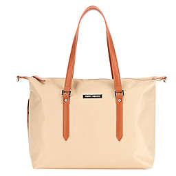 Perry Mackin Ashley Diaper Bag in Beige