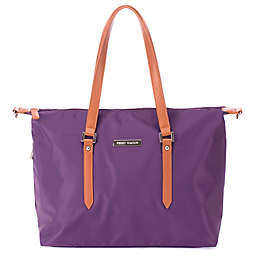 Perry Mackin Ashley Diaper Bag in Lilac