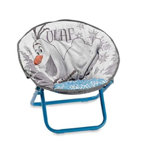 Disney 174 Frozen Saucer Chair In Blue Bed Bath Amp Beyond