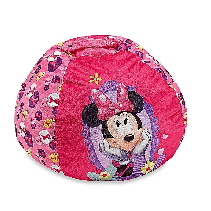 Magnificent Disney Minnie Mouse Bean Bag Chair Creativecarmelina Interior Chair Design Creativecarmelinacom