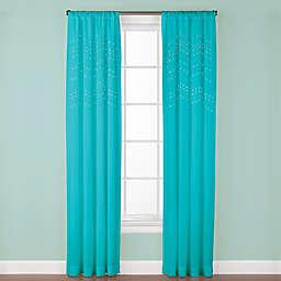 Madden 63-Inch Rod Pocket Window Curtain Panel in Aqua