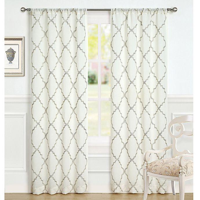 Buy Laura Ashley® Windsor 96-Inch Window Curtain Panel