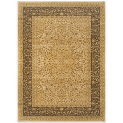 Antique Heat Set Rug In Weathered Gold Bed Bath Amp Beyond