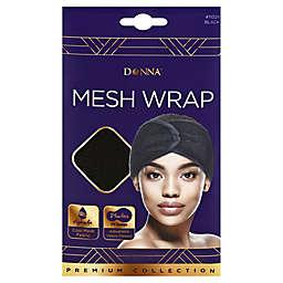 Donna Mesh Hair Wrap in Black