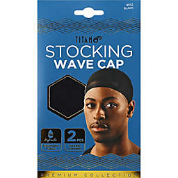 TITAN Stocking Wave Caps (Set of 2)