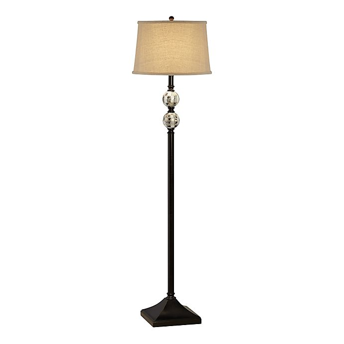 Alternate image 1 for Pacific Coast® Lighting Chess and Checkers Floor Lamp in Black