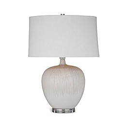 Bassett Mirror Company Arcadia Table Lamp in Beige