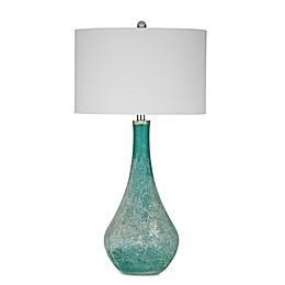 Bassett Mirror Company Maggiore Table Lamp in Sea Blue