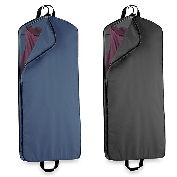 Alternate image 1 for WallyBags® 52-Inch Dress Length Garment Bag with Pocket