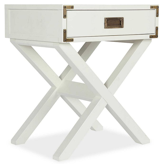 Alternate image 1 for Bertini® Wyatt Nightstand in Classic White