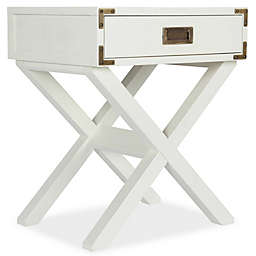Bertini® Wyatt Nightstand in Classic White
