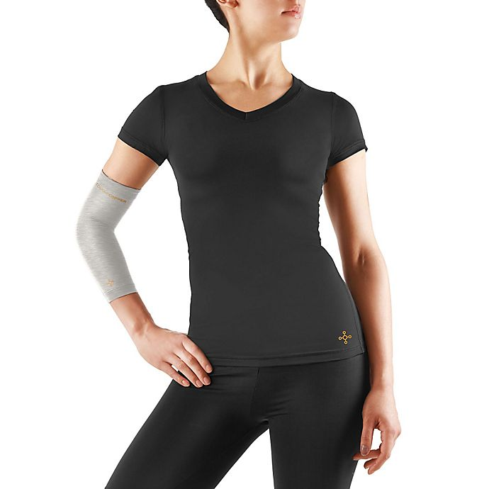 63b4e2a821 Tommie Copper Women's Compression Elbow Sleeve in Silver | Bed Bath ...