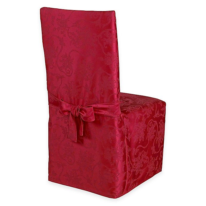 Incredible Christmas Ribbons Dining Room Chair Covers Bed Bath Beyond Theyellowbook Wood Chair Design Ideas Theyellowbookinfo