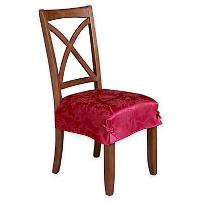 Curved Top Dining Room Chair Covers dining room chair covers, slipcovers & seat covers | bed bath & beyond