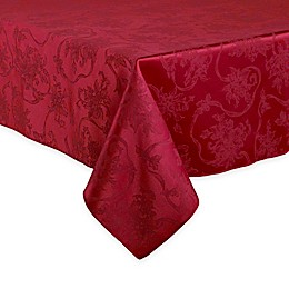 Christmas Ribbons Tablecloth