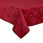 Christmas Ribbons 60-Inch x 104-Inch Oblong Tablecloth in Ruby