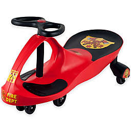 Lil' Rider Rescue Firefighter Wiggle Ride-On Car