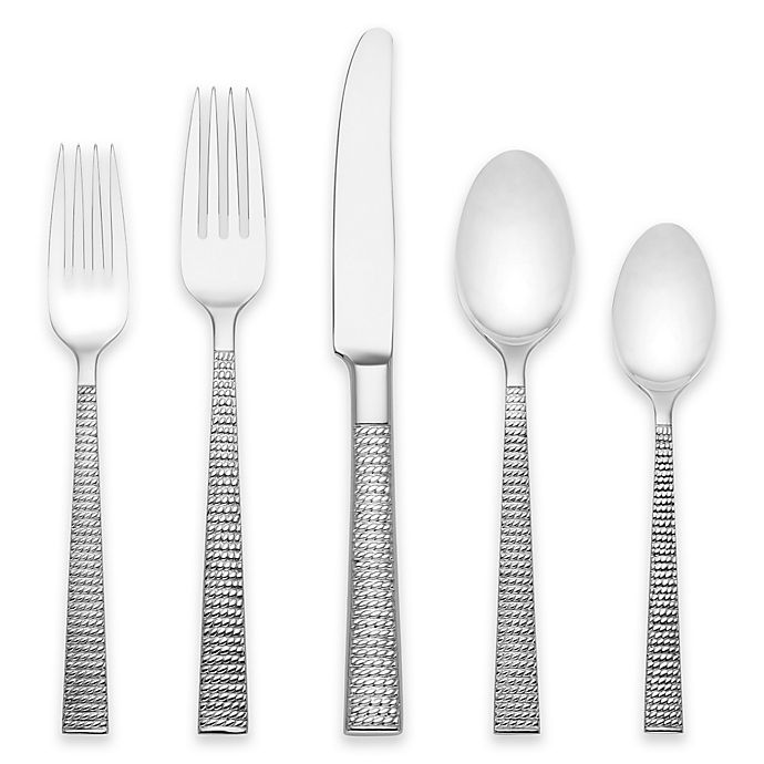 Alternate image 1 for kate spade new york Wickford™ 5-Piece Flatware Place Setting