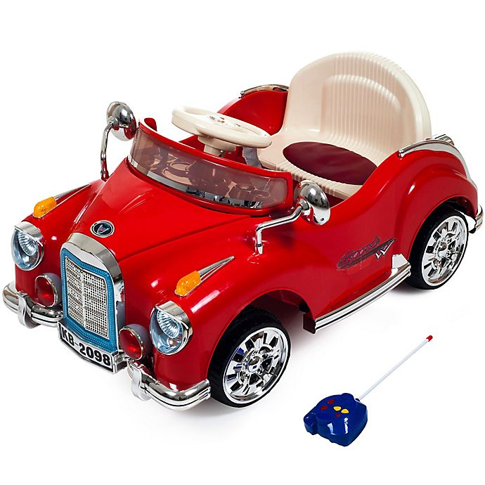 Alternate image 1 for Lil' Rider Cruisin' Coupe Battery-Operated Classic Car with Remote