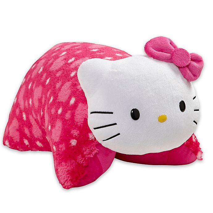 Hello Kitty Cuddle Pillow: Pillow Pets® Sanrio Hello Kitty Folding Pillow Pet