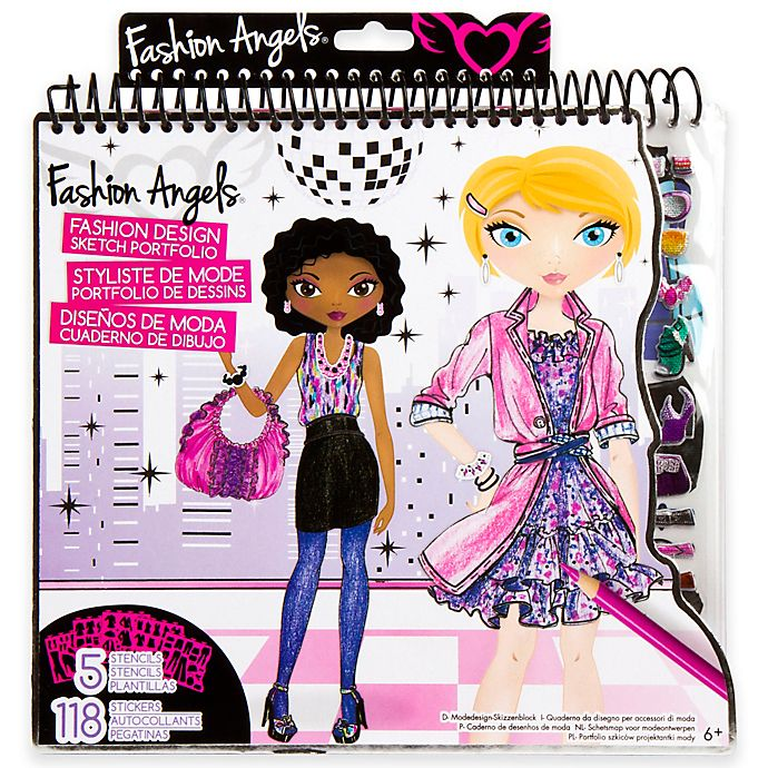 Fashion Angels Fashion Design Sketch Portfolio Bed Bath Beyond