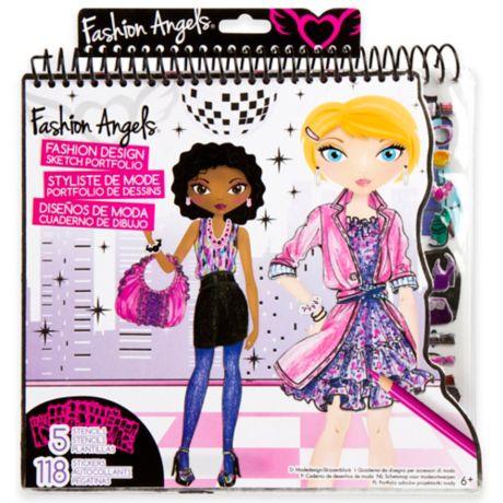 fashion angels interior design sketch portfolios gifts